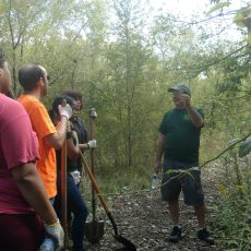 NJTF and Partners Plant Trees in the Cramer Hill Nature Preserve!